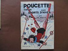POUCETTE TROTTIN AUX SPORTS D'HIVER (1957)