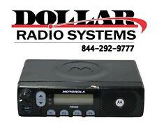 Motorola PM400 438-470Mhz UHF 40W 64Ch Narrow Police HAM Car LTR Mobile Radio