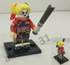 Figurine Marvel DC Comics Harley Quinn compatible Lego, neuf CE minifigur .