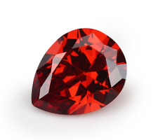 EXQUISITE 18.39ct PADPARADSCHA RUBY 13x18mm PEAR CUT AAAA+ LOOSE GEMSTONES