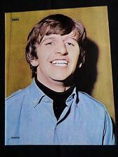 RINGO STARR  - MAGAZINE CLIPPING - ( 1 FULL PAGE PICTURE  )