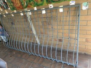 Security Window Galvanised Grill; 1200mm(h) X 2400mm (w)