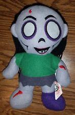 Dead Scary Zombie Girl Stuffed Animal Plush Toy Halloween Doll