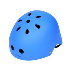 Safety Rock Climbing Caving  Helmet Head Protector with Vents Blue