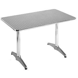 """27"""" X 42"""" Rectangular Aluminum Table"""