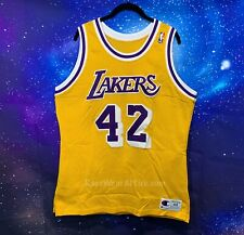 Rare Vintage James Worthy #42 Los Angeles Lakers Champion Jersey Sz 44