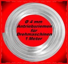 1 Meter,Ø 4mm,Antriebsriemen,Drehbank,Unimat 3,Emco Unimat SL,**belt for lathe*
