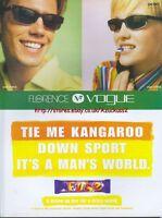 """Cadburys Fuse """"tie Me Kangaroo"""" 1997 Magazine Advert #4167"""