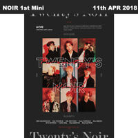 NOIR Twenty's NOIR 1st Mini Album CD+Photobook+Photocard KPOP