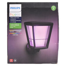 Philips Hue Econic Outdoor Wall Lantern (Upwards) - White & Colour Ambiance