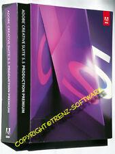 Adobe Creative Suite 5.5 Production Premium Macintosh alemán DVD-IVA cs5.5