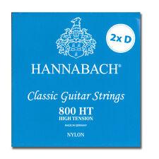 Saiten für Konzertgitarre -  Hannabach 800HT - 2xD - Special Limited Edition