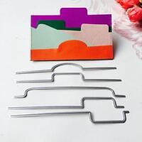 5pcs/set Metal Cutting Dies For Scrapbooking/Photo Album Embossing DIY Card Gift