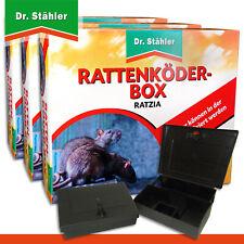 Dr.Stähler 3 X Rattenköder-box Noir Ratzia