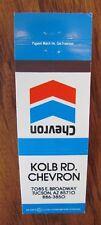 CHEVRON GAS STATION: KOLB (TUCSON, ARIZONA) -L6