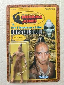 INDIANA JONES ACTION FIGURE NEW UGHA WARRIOR SAVAGE WILD COMPLETE CARDED