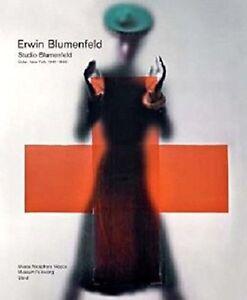 """Erwin Blumenfeld - """"Blumenfeld Studio, New York"""""""