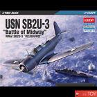 Academy 1/48 USN SB2U-3 Battle of Midway US Dive Bomber Plastic model kit #12324