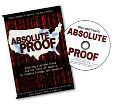Absolute Proof Documentary ( Single Dvd )  Mike Lindell - Free Shipping