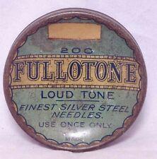 Fullotone circular gramophone needle tin for 200 loud tone needles