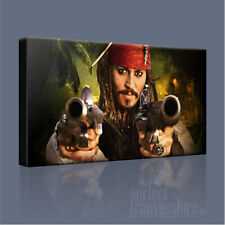 PIRATES OF THE CARIBBEAN JOHNNY DEPP ICONIC CANVAS ART PRINT PICTURE ArtWilliams