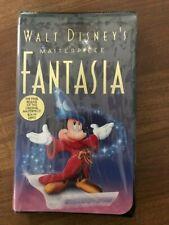 "Walt Disney'S Masterpiece ""Fantasia"" Final Release Vhs Tape 1132 - Sealed"