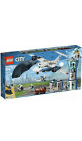 LEGO City Sky Police Air Base Tower Toy Plane & Car - 60210 Box Is Damaged