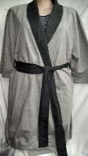 8839c2d04a Autograph GREY soft PJ Pyjamas dressing gown ROBE + Belt S - M 18 20 22