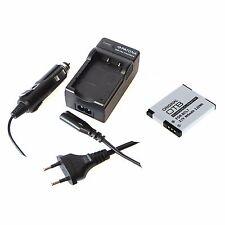 Akku und Ladegerät für Panasonic Lumix DMC-SZ3 DMC-SZ9 DMC-SZ10