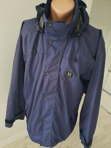 Haglofs fine mens Waterproof Lightweight Hooded jacket,fine cond.size M/L World.