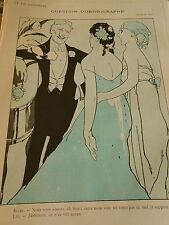 Question d'Orthographe Les Deux femmes qui s'aiment Print Art Déco 1907