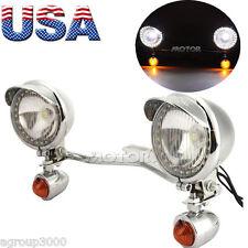 Passing Spot Turn Signals Light Bar For Yamaha V Star XVS 250 650 950 1100 1300