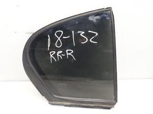 2006 Lexus GS300 Rear RIGHT back door vent glass window 68123-30611