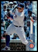 2020 Topps Chrome Base Prizm Refractor #71 Anthony Rizzo - Chicago Cubs
