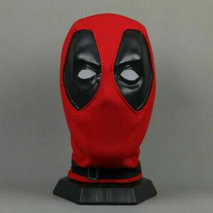 Cosplay Deadpool Volles Gesicht Maske Perspektive Superhero Atmungs Maske