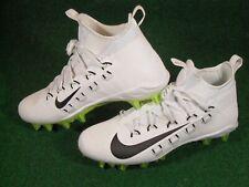 New Nike Alpha Huarache 6 Elite LAX Lacrosse Football Cleats White Black Volt