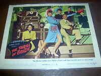 "THE THRILL OF BRAZIL LOBBY CARD ANN MILLER MGM 11"" X 14"""
