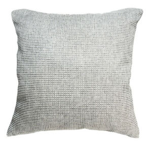 Qe05a Silve Grey Beige Rough Cotton Blend Cushion Cover/Pillow Case*Custom Size*