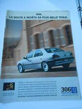 Publicté Advertising 1998 Auto La Peugeot 306