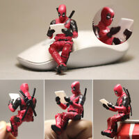 Deadpool X-men Sitting Mini Figurine Statue 7m No Box