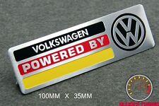 VOLKSWAGEN MOTORSPORT EMBLEM SCHRIFTZUG  - VW 3 GOLF 2 4 5 GTI VR6 R32 POLO FOX