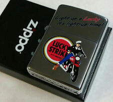Lucky Strike Zippo 2008 LIGHT UP 50 Made Limited Edition RARE