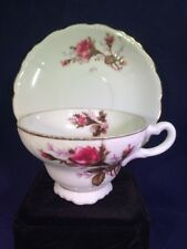 Vintage Moss Ross Porcelain Tea Cup and Saucer