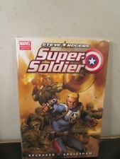 Steve Rodgers Super Soldier Captain America Marvel Comics Hard Cover Hc~