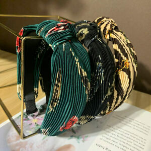 Women's Elegant Wide-Brimmed Knot Hair Hoop Headband Hair Band Hair Accessories