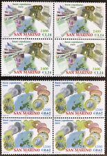 SAN MARINO 2001 2 Quartine nuove BENVENUTO EURO BUON CAPODANNO