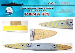 Shipyard 1/350 350025 Wood Deck Italian Roma for Trumpeter