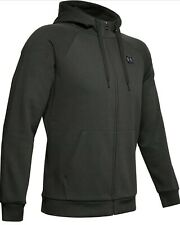 Under Armour Men Rival Full-Zip Logo Hoodie  Size M MSRP $55 NWT