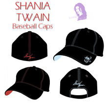"Shania Twain Fan Club Red ""Signature Series"" Baseball Cap New + now w/free gift"