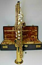 Yanagisawa S-880 Elimona Straight Bb Soprano Saxophone S880 880